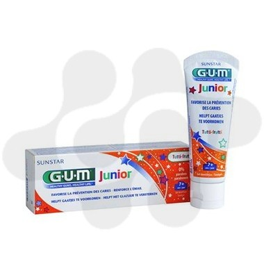 GUM JUNIOR PASTA DENTAL NARANJA 50 ML