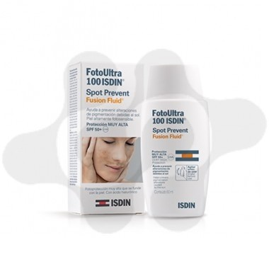FOTOPROTECTOR ISDIN SPF- 100+ ULTRAFUSION FLUID 50 ML