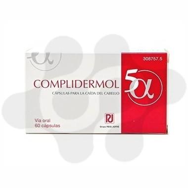 COMPLIDERMOL 5ALFA 60 CAPS