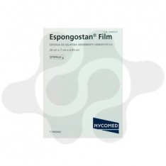 ESPONGOSTAN APOSITO ESTERIL FILM 1 LAMINA