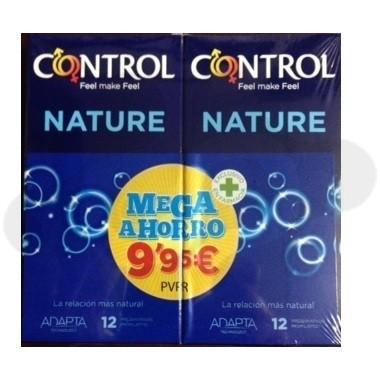 PACK CONTROL NATURE PRESERVATIVOS MEGAPRECIO 24 PRESERVATIVOS
