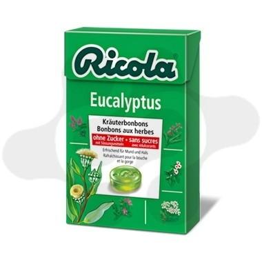 RICOLA CARAMELOS SIN AZUCAR EUCALIPTUS 50 G
