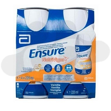 ENSURE NUTRIVIGOR 4 BOTELLA 220 ML VAINILLA