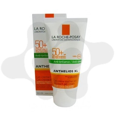 ANTHELIOS XL 50+ GEL CREMA TOQUE SECO PERFUME LA ROCHE POSAY COLOR 50 ML