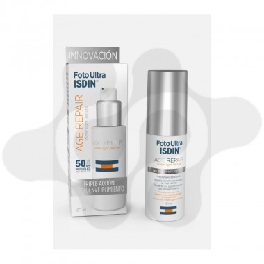 FOTOULTRA ISDIN AGE REPAIR WATER LIGHT TEXTURE 50 ML FUSION WATER