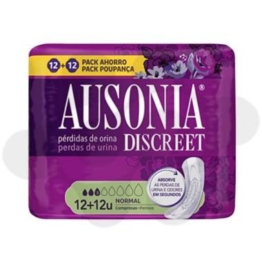 ABSORB INC ORINA MUY LIGERA AUSONIA DISCREET NORMAL 24 U