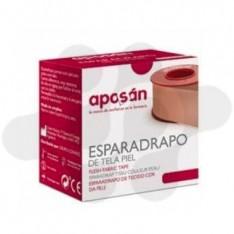 ESPARADRAPO APOSAN TELA PIEL 5 X 5 CM