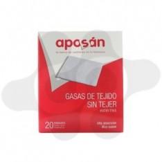 GASA ESTERIL TEJIDO SIN TEJER APOSAN 10 CM X 10 CM 20 GASAS (2 U/SOBRE)