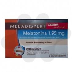 MELADISPERT DORMIR & EN FORMA COMP 1.95 MG 30 COMP