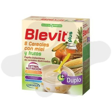 DUPLO BLEVIT PLUS 8 CEREALES Y FRUTAS 600 G