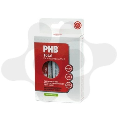 PHB TOTAL PASTA DENTIFRICA 6 ML 4 TUBOS