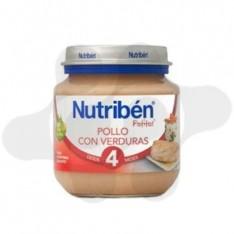 NUTRIBEN POLLO CON VERDURAS POTITO INICIO 130 G