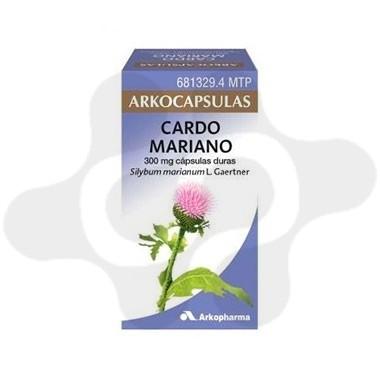 CARDO MARIANO ARKOCAPSULAS 300 MG 100 CAPSULAS