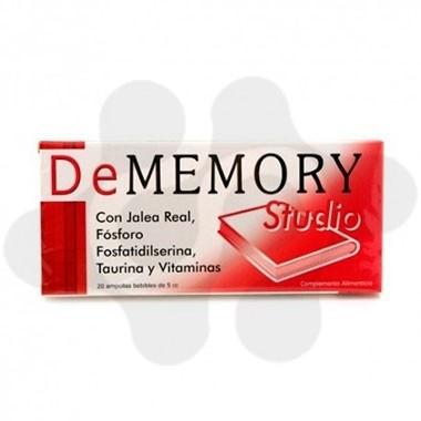 DE MEMORY STUDIO 20 AMPOLLAS