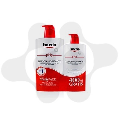 PACK EUCERIN GEL PH5 1L + 400 ML