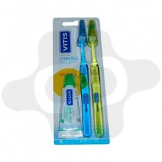 PACK CEPILLO DENTAL ADULTO VITIS MEDIO