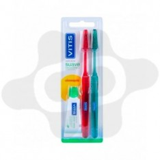 PACK CEPILLO DENTAL ADULTO VITIS SUAVE