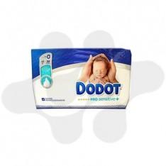 PAÑAL INFANTIL DODOT PRO SENSITIVE T- 0 - 3 KG 38 U
