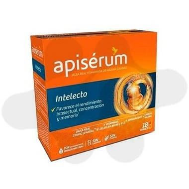 APISERUM INTELECTO 18 VIAL BEBIBLE