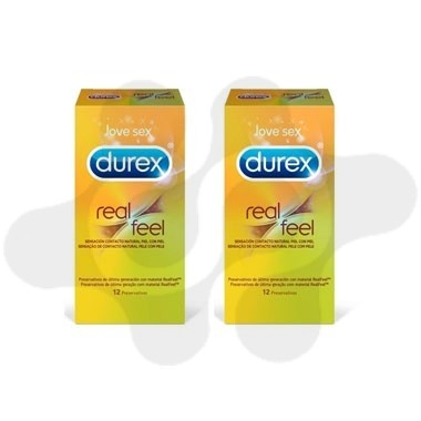 DUREX DUPLO COND REAL FEEL
