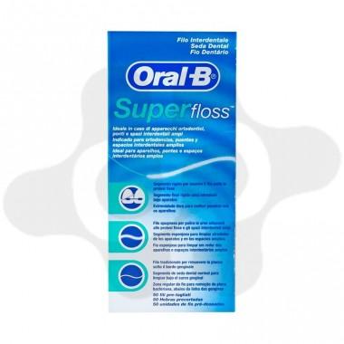ORAL B SUPER FLOSS MINT