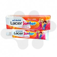 LACER JUNIOR GEL DENTAL 75 ML FRESA