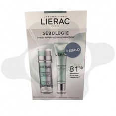 LIERAC DUO SEBOLOGIE DOBLE CONCENTRADO + GEL REGALO