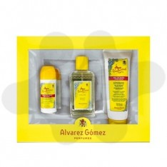 ESTUCHE ALVAREZ GOMEZ 150 ML+DESODORANTE ROLL-ON + GEL