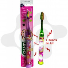 CEPILLO DENTAL JUNIOR GUM 903 C/ LUZ MONSTRUOS