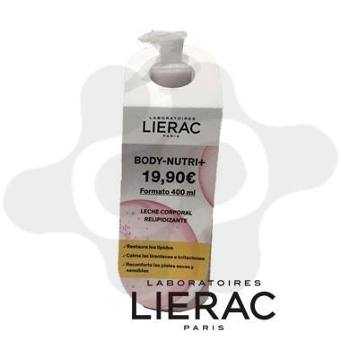 LIERAC BODY-NUTRI+ LECHE CORPORAL RELIPIDIZANTE 400 ML