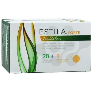 ESTILA FORTE TOALLITAS 28 TOALLITAS + ALMOHADILLA