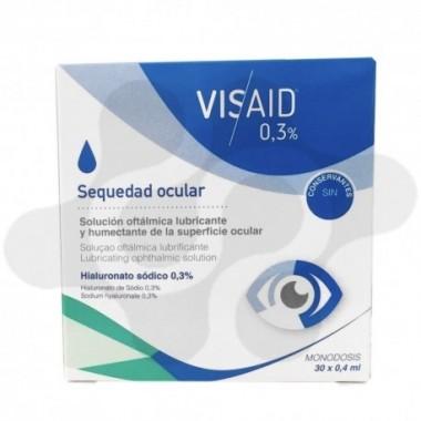 VISAID 0.3% GOTAS OCULARES ESTERIL 0.4 ML 30 MONODOSIS