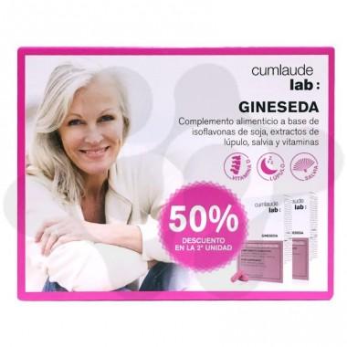 GINESEDA DUPLO 50% 30+30 CAPS