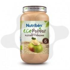 NUTRIBEN ECO SELECCION PLATANO Y MANZANA POTITO GRANDOTE 250 G