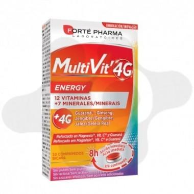 MULTIVIT 4G ENERGY 30 COMPRIMIDOS