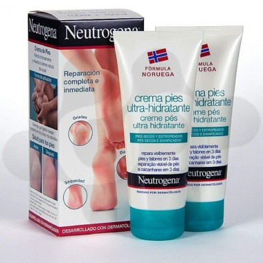 NEUTROGENA PIES CREMA ULTRAHIDRATANTE 100 ML + 100 ML
