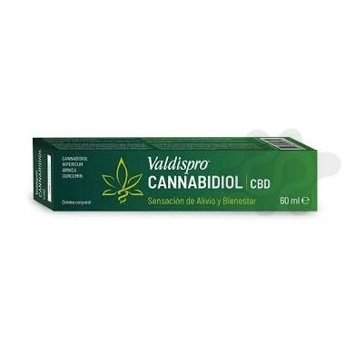 VALDISPRO CANNABIDIOL CREMA 1 ENVASE 60 ml