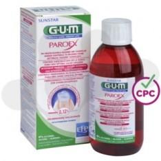 GUM PAROEX TRATAMIENTO COLUTORIO 1 ENVASE 300 ml