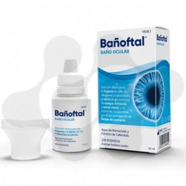 BAÑOFTAL BAÑO OCULAR 1 ENVASE 50 ml