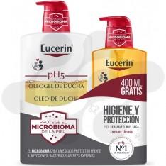 PACK EUCERIN OLEOGEL PH5 1L + 400 ML