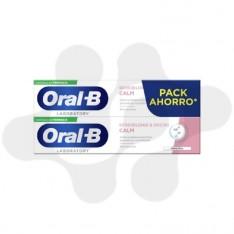 ORAL-B SENSIBILIDAD Y ENCIAS CALM 2 TUBOS 100 ml PACK AHORRO