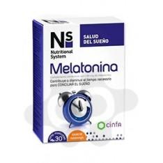 NS MELATONINA 1,95 mg 30 COMPRIMIDOS MASTICABLES