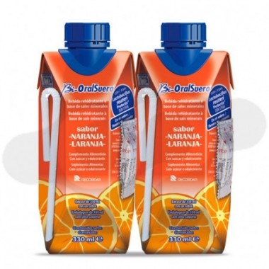 BIORALSUERO 2 TETRABRICK 330 ml SABOR NARANJA
