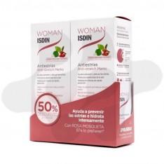 DUO WOMAN ISDIN ANTIESTRIAS 50% 2 U
