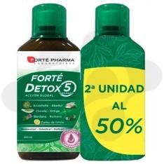 FORTE DETOX 5 ORGANOS 500 ml PACK DUO